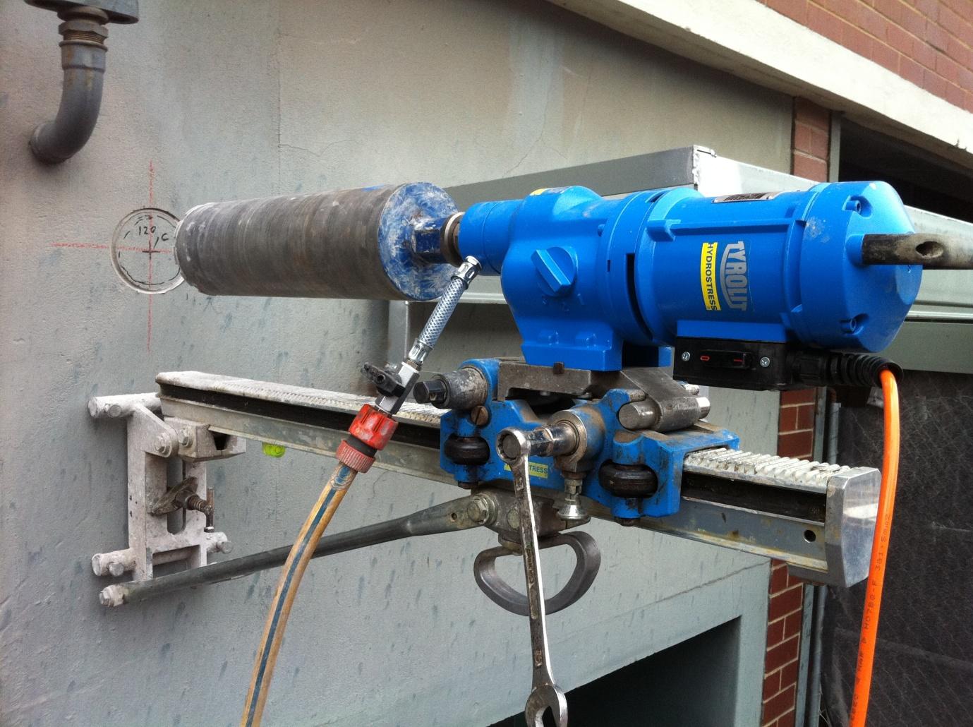 pipe coring